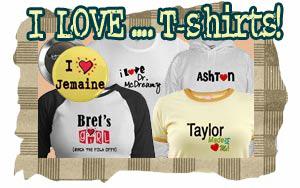 I Love Tshirts & I Heart T-shirts