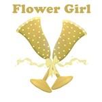 Golden Flower Girl T-shirts, Tees, Gifts