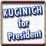 Dennis Kucinich T-shirts, Stickers, Buttons