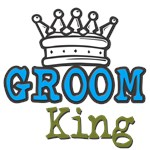 Groom King T-shirts & Wedding Favors