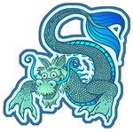 Mythical Green Chinese Water Dragon T-Shirts