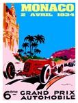 Monaco 1934 Grand Prix Auto Race