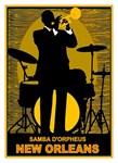 Samba D'Orpheus New Orleans Vintage Print