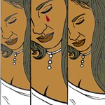 OYOOS Womans Tears design