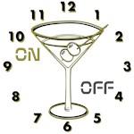 OYOOS Clock Cocktail Glass design