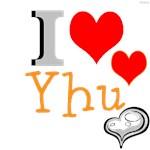 OYOOS I Love Yhu Heart design
