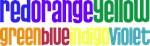 Color Blind Rainbow