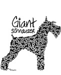 Fun Giant Schnauzer design