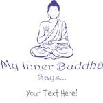 Inner Buddha, blue