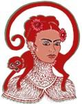 Frida in Red