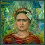Cubist Frida Verde