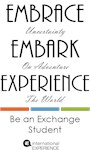 Embrace, Embark, Experience