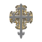 Silver Gold Cross