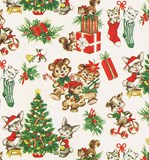 Vintage Christmas with Animals