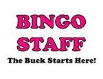 Bingo Staff Pink