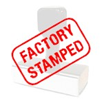 Factory Stamped