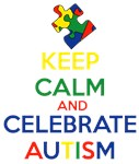 Keep Calm and Celebrate Autism - Puzzle