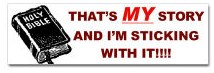 Bumper Stickers and License Plate Frames