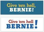 Give 'em hell, Bernie!