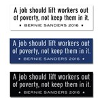 Bernie on jobs and poverty