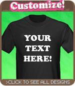 Custom Text T-Shirt