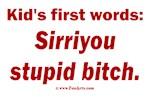 Kid says Sirri