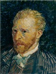 Vincent van Gogh Self Portrait 1887