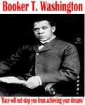 Booker T. Washington Black History T Shirts