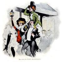 Vintage Scenes of Paris Nightlife