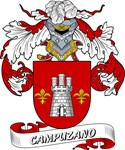 Campuzano Coat of Arms, Family Crest