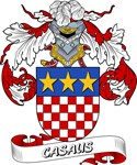 Casaus Coat of Arms, Family Crest
