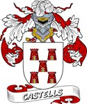 Castells Coat of Arms, Family Crest