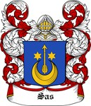 Sas Coat of Arms, Family Crest
