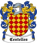 Centelles Coat of Arms, Family Crest