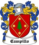 Campillo Coat of Arms, Family Crest