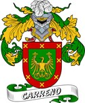 Carreno Family Crest