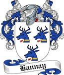 Hannay Family Crest, Coat of Arms