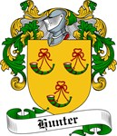 Hunter Family Crest, Coat of Arms