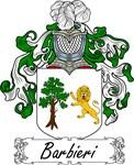 Barbieri Family Crest, Coat of Arms