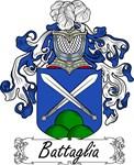 Battaglia Family Crest, Coat of Arms