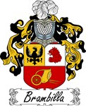 Brambilla Family Crest, Coat of Arms