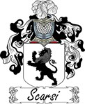 Scarsi Family Crest, Coat of Arms