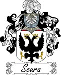 Scura Family Crest, Coat of Arms