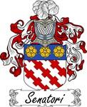 Senatori Family Crest, Coat of Arms