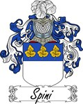 Spini Family Crest, Coat of Arms