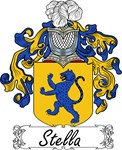 Stella Family Crest, Coat of Arms