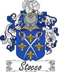 Stocco Family Crest, Coat of Arms