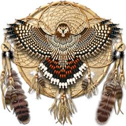 Red-Tail Hawk Dreamcatcher