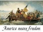 America means Freedom