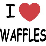 I heart waffles